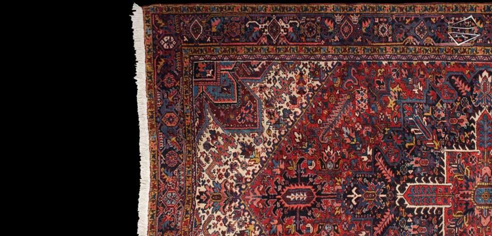 Persian Zarneh Rug 9 X 14