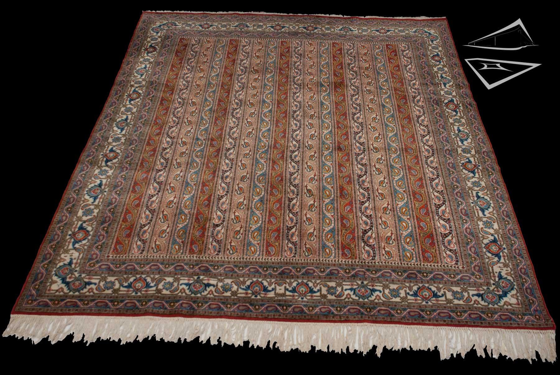 Persian Qum Rug 9 X 12