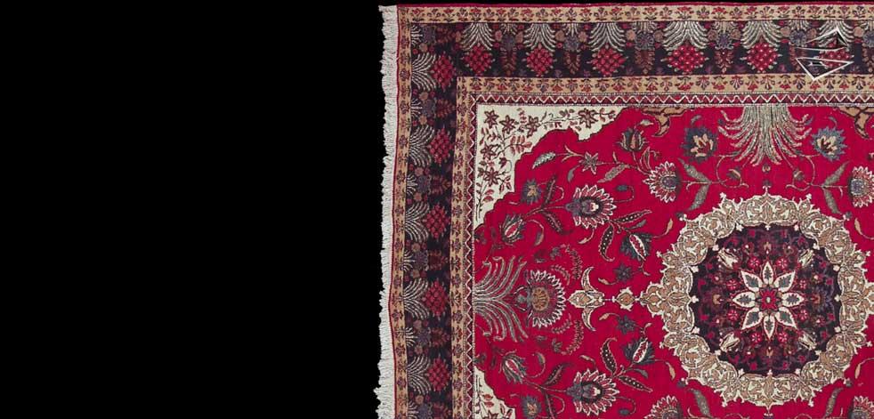 persian ardebil square rug 10 39 x 12 39. Black Bedroom Furniture Sets. Home Design Ideas