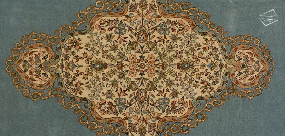 Persian Tabriz Square Rug 14 X 16