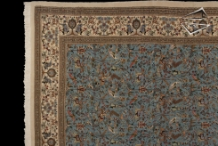 Square Persian Tabriz Rug