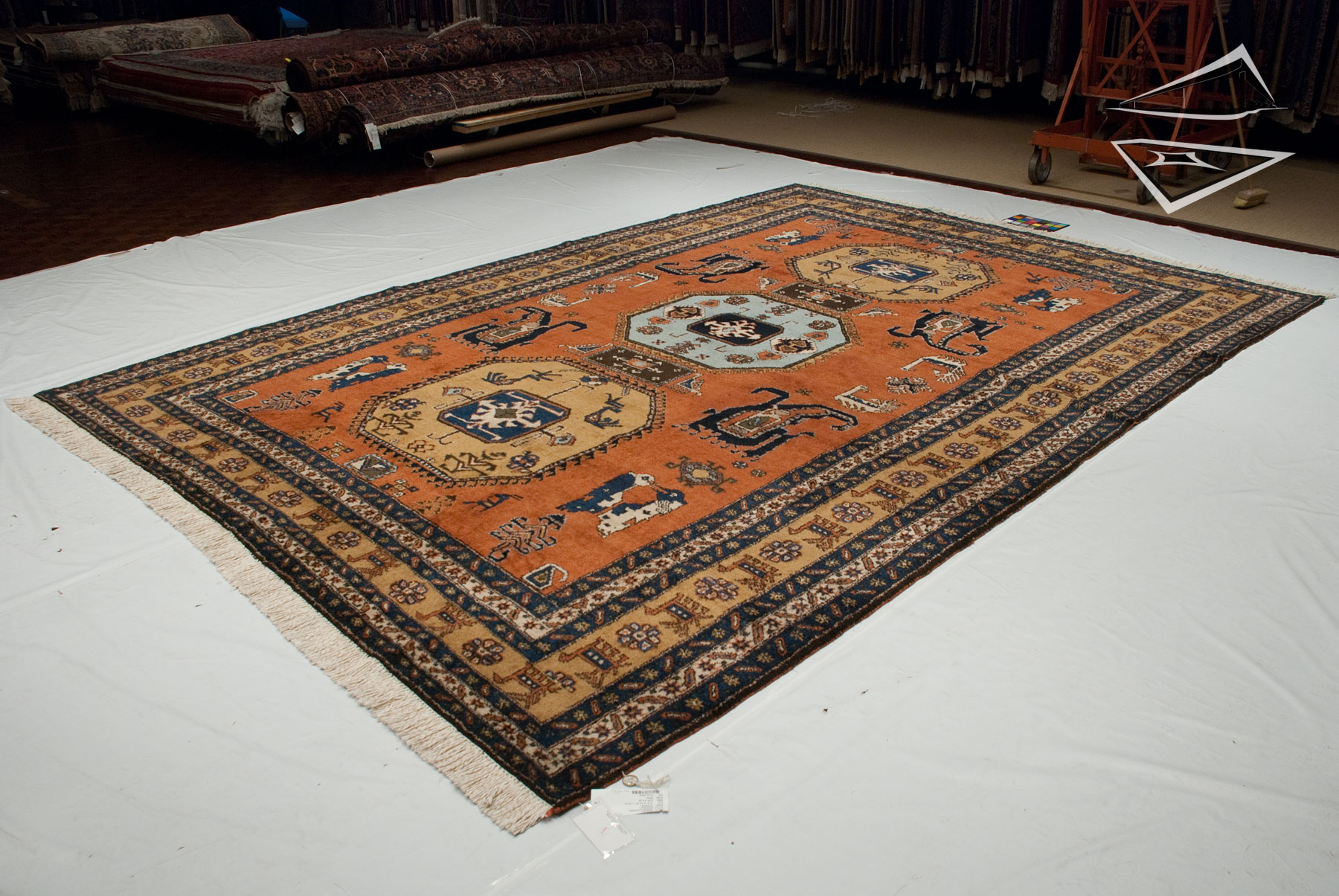 persian meshkin rug 10 39 x 14 39. Black Bedroom Furniture Sets. Home Design Ideas