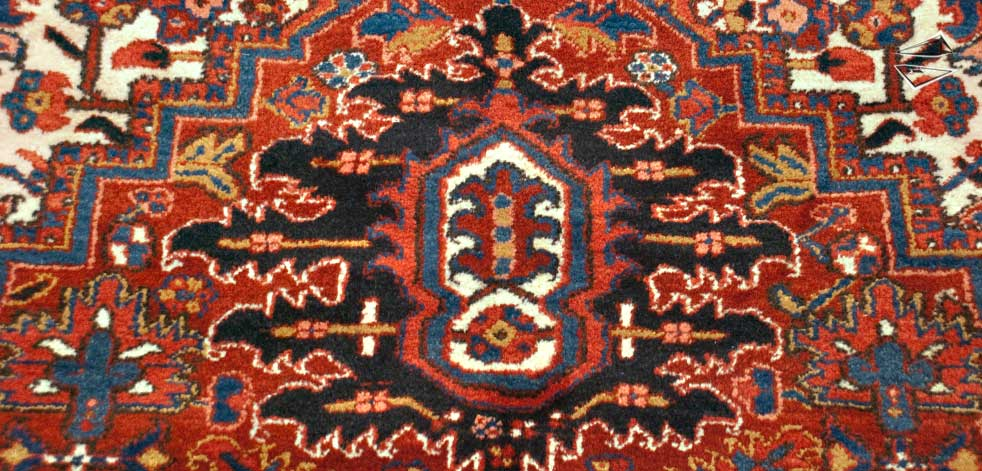 Persian Heriz Rug .