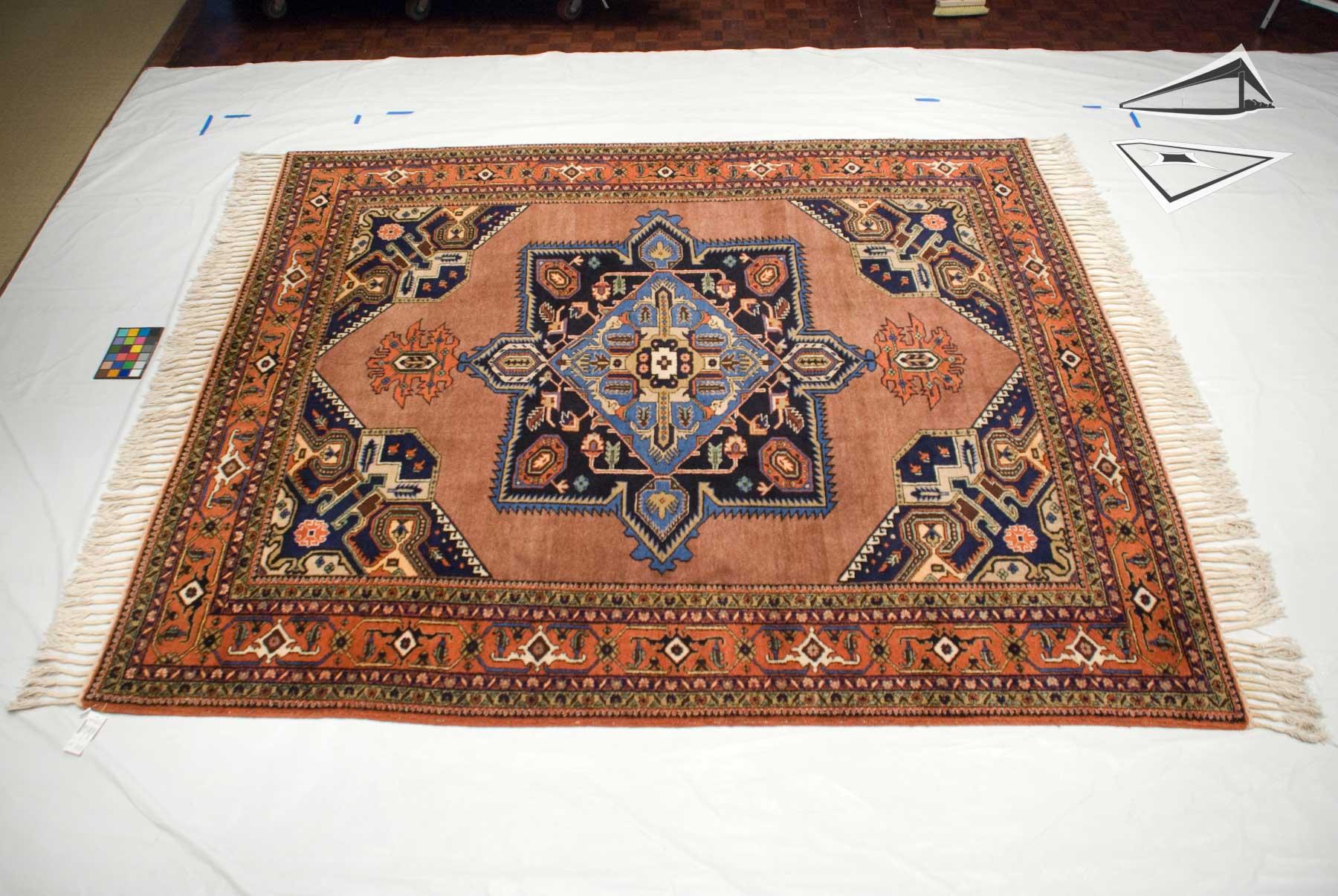 persian meshkin square rug 10 39 x 12 39. Black Bedroom Furniture Sets. Home Design Ideas