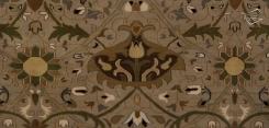 Arts & Crafts Voysey Rug