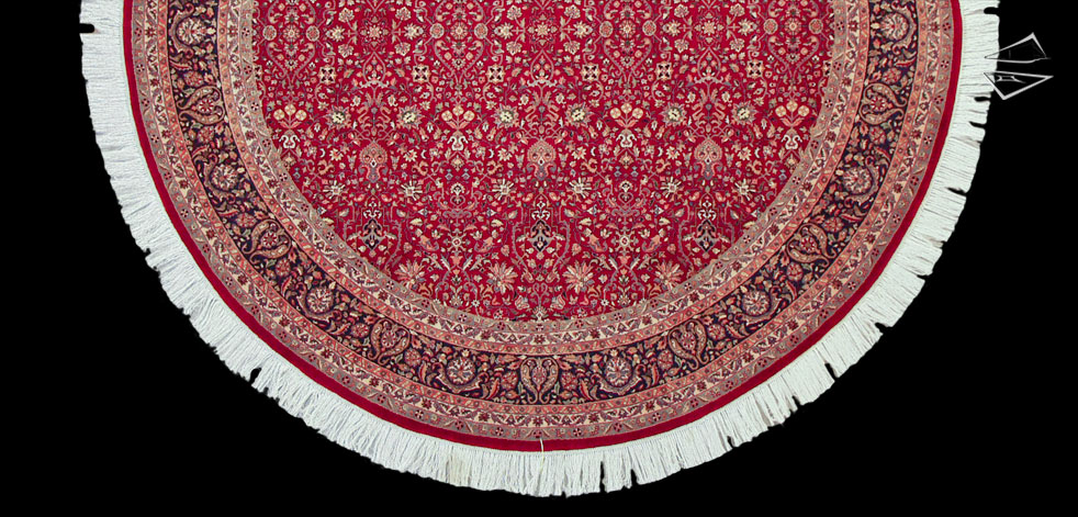 Tabriz Design Round Rug 10 X 10