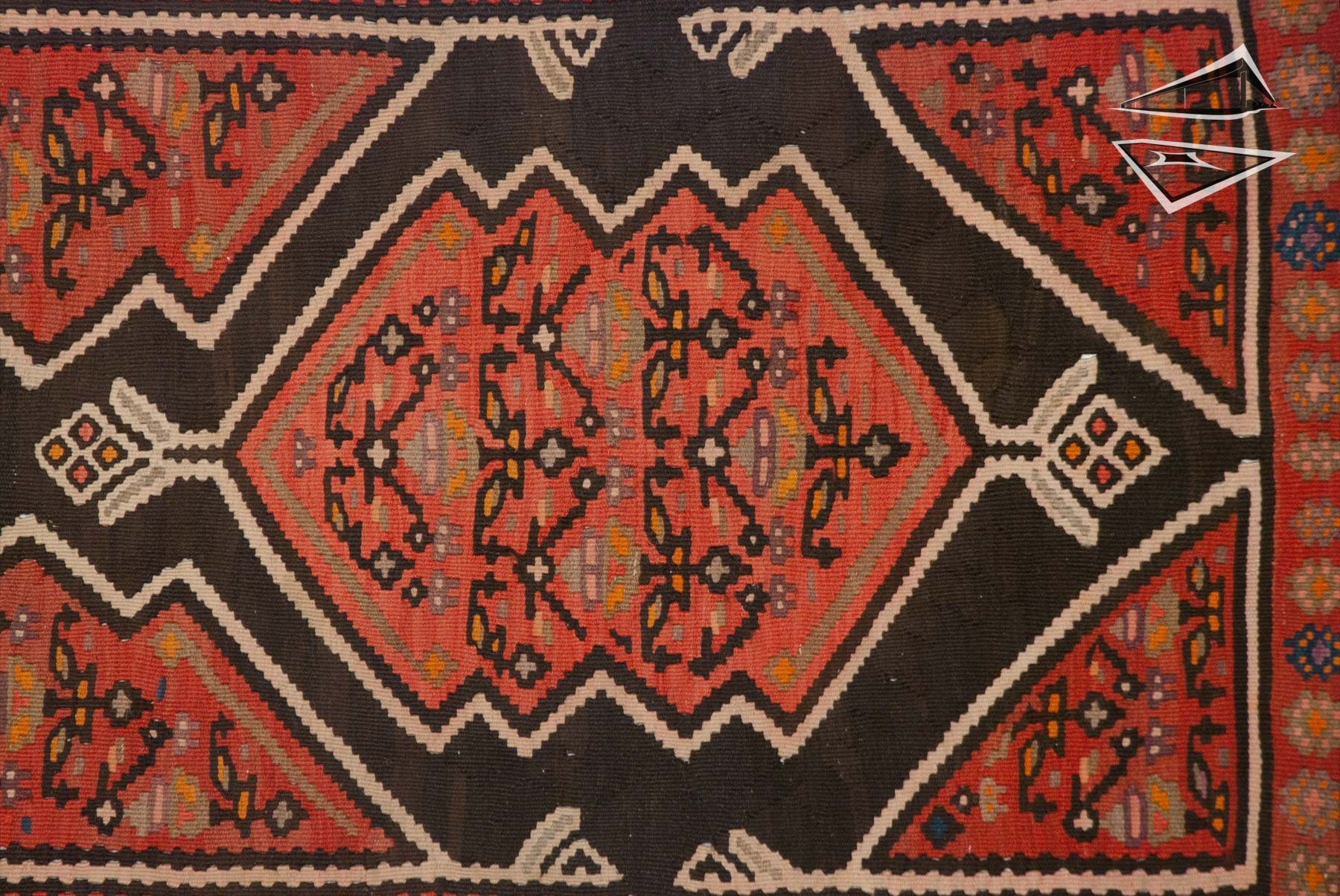 persian kilim rug runner 3 39 x 18 39. Black Bedroom Furniture Sets. Home Design Ideas