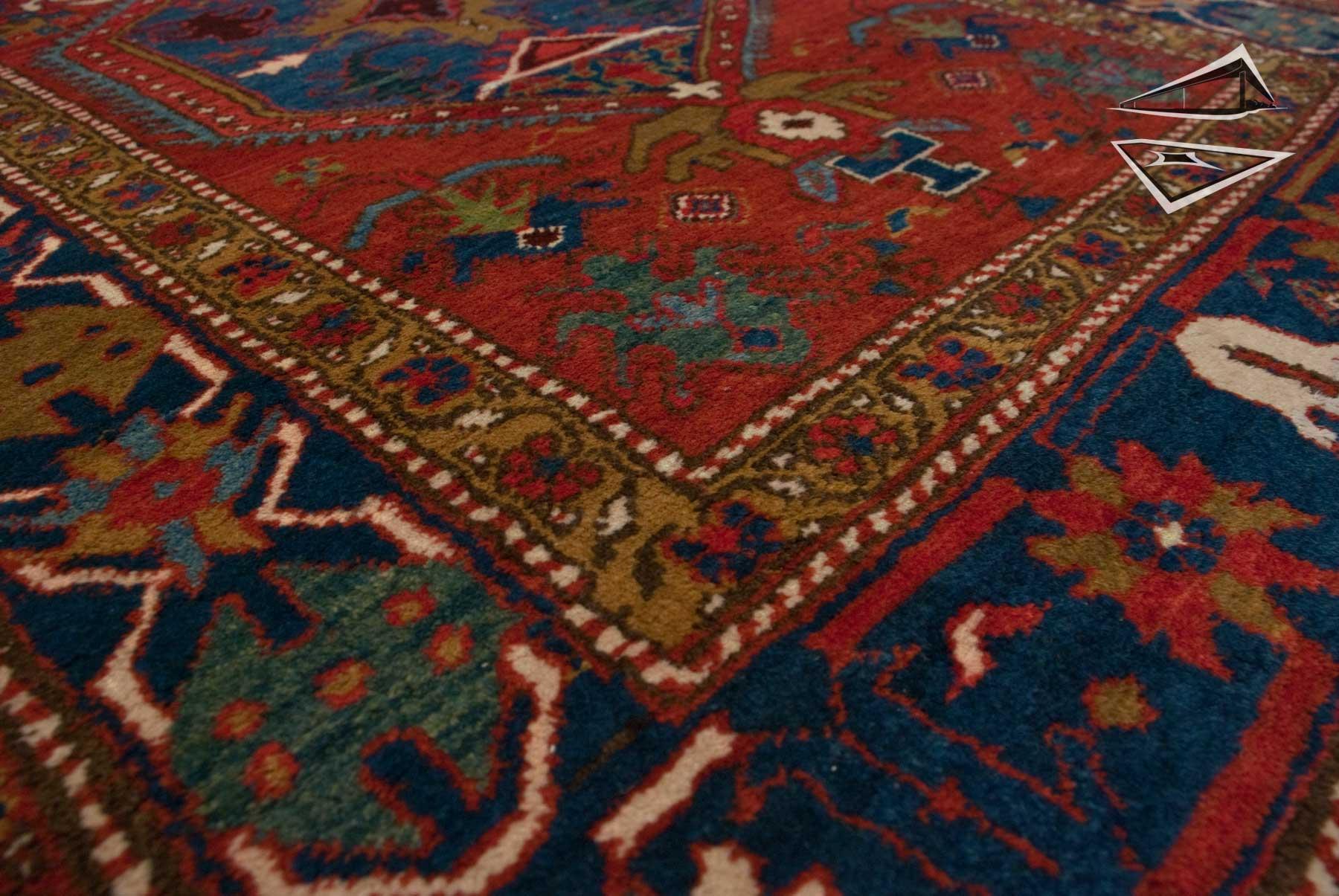 Persian Heriz Rug Runner 4 X 14