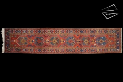 Persian Heriz Rug Runner