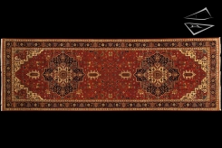 Heriz Design Rug Runner