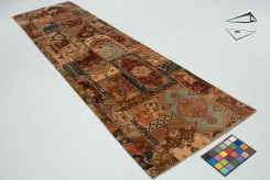 Patchwork Design Rug Runner